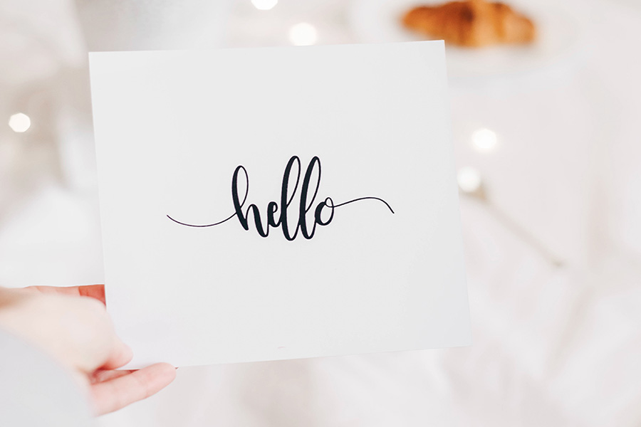 Hello & Welcome!